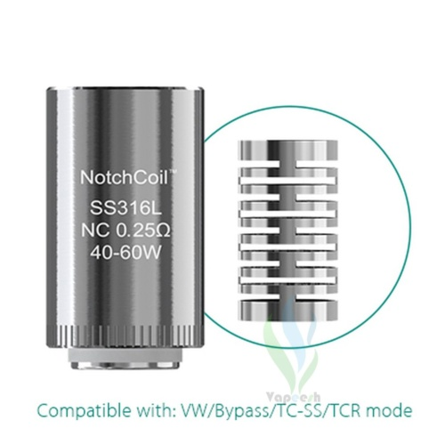 Eleaf Lyche Tank Notch Coil SS316L 0.25 Ohm