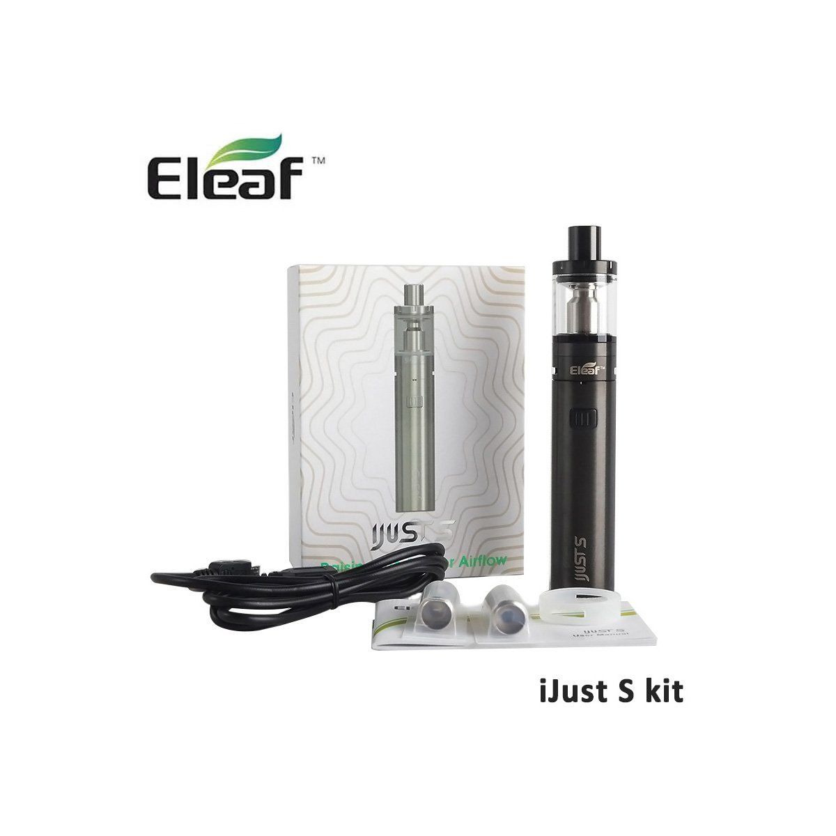 Eleaf iJust-S Kit Package Components