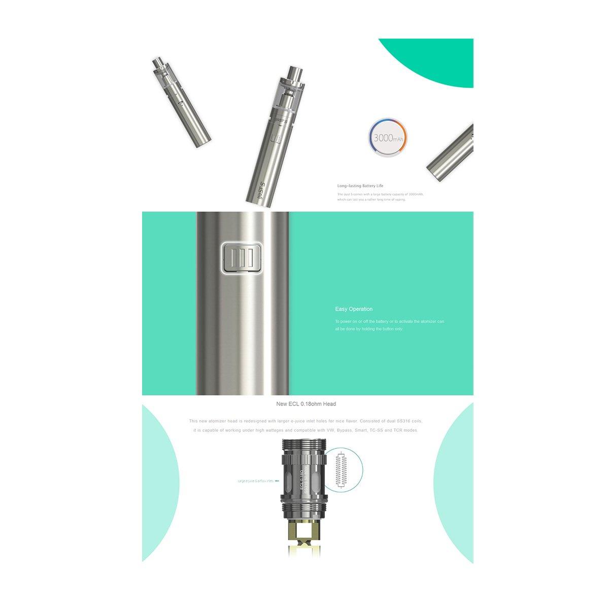 Eleaf iJust-S Kit Features