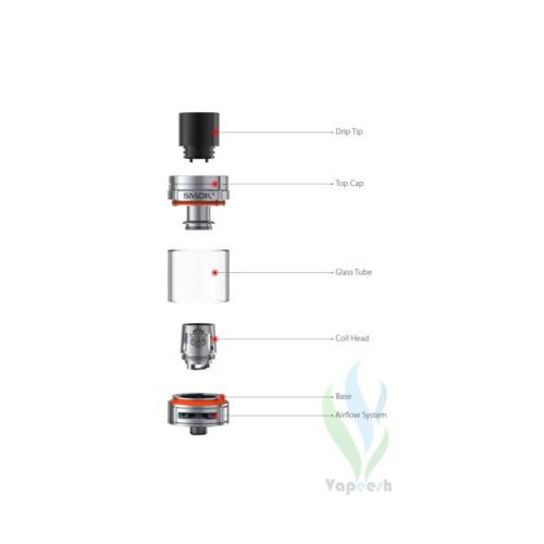 Smok TFV8 Big Baby Tank Components
