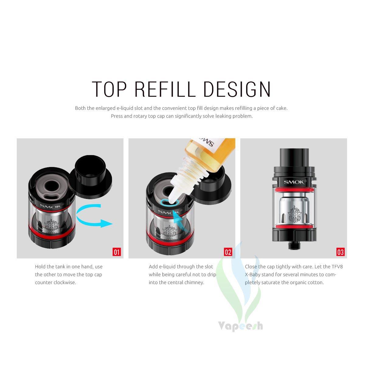 Smok TFV8 X-Baby Tank Refill