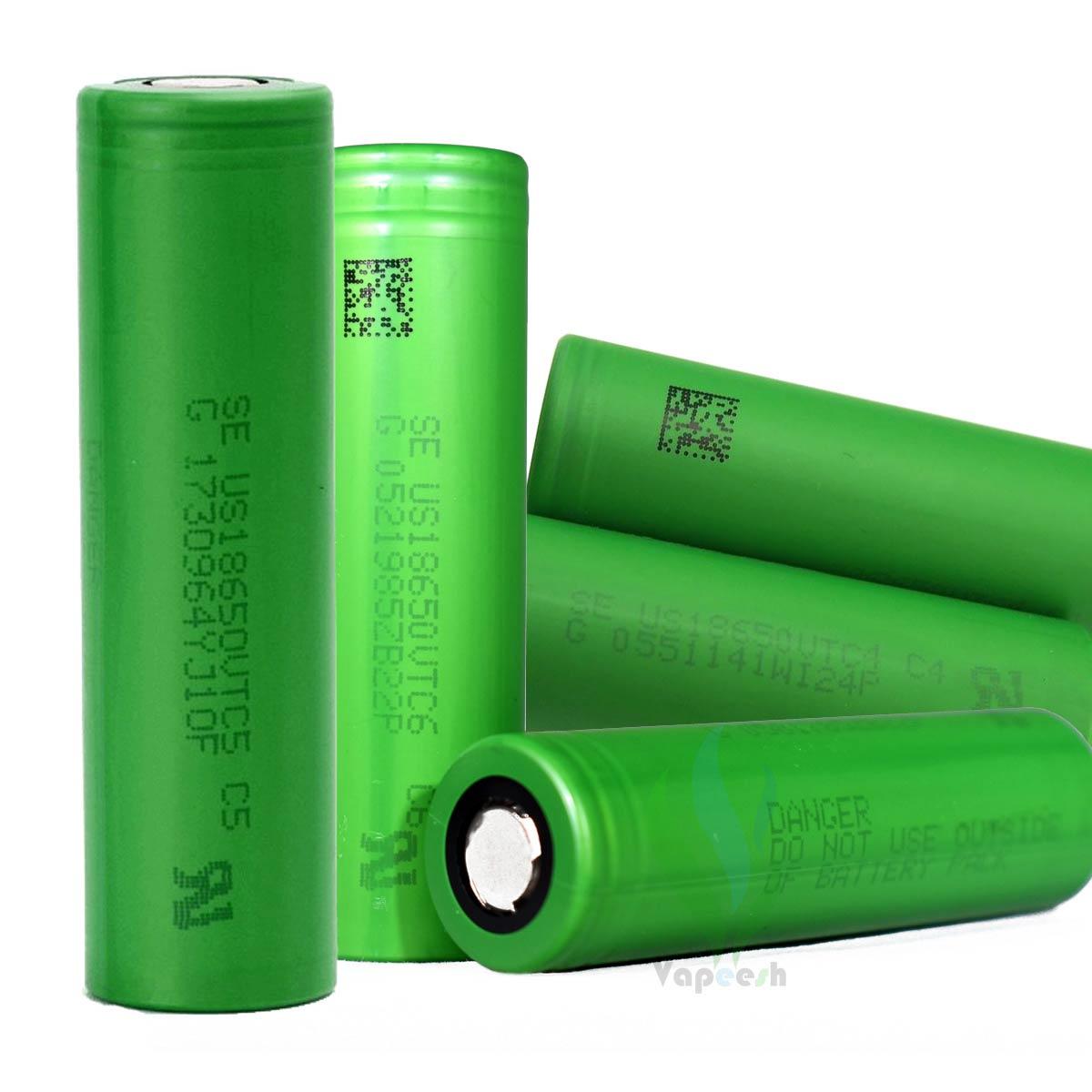 Sony Battery 18650 VTC4, VTC5, & VTC6
